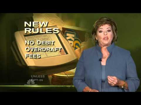 Goodbye Overdraft Charges - Debit Card Overdraft Fees