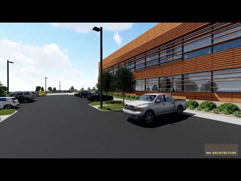 Updated fly through of the NC Agricultural Sciences Center