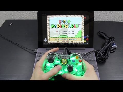 Wired Xbox 360 Controller on the Transformer Prime!