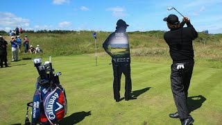 Phil Mickelson Flop Shot Challenge