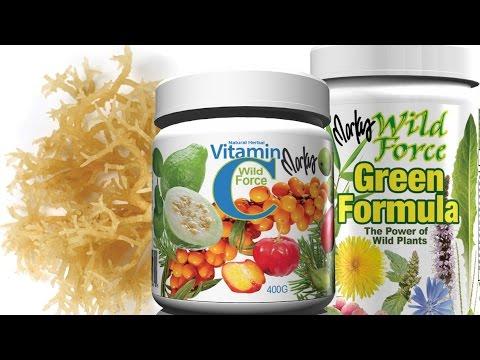 Collagen Kit by Wild Force- Natural Skin Collagen Builder w Vitamin C