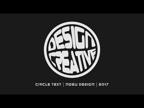 How to Make Circle Typography in Adobe Illustrator | Illustrator Tutorial