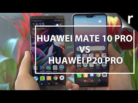 Huawei P20 Pro vs Mate 10 Pro: Premium Phone Face-Off!