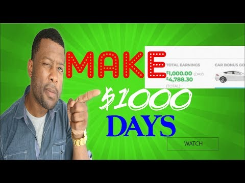 New Way To Make $1000 Day Online \ The Super Affiliate Network Review SAN