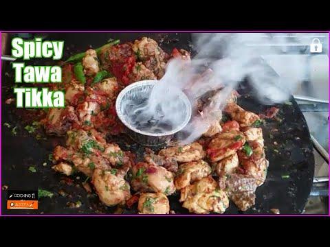Chicken Tawa Boti Recipe   Tasty Tikka Boti   Tawa Chicken Recipe by (COOKING WITH ASIFA)