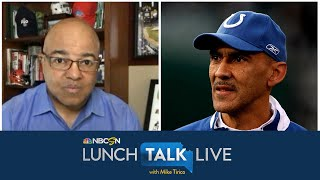 Tony Dungy unpacks Minneapolis protests, intersection of sports, race | Lunch Talk Live | NBC Sports