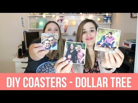 DIY Coasters - Dollar Tree - SSSVEDA DAY 23