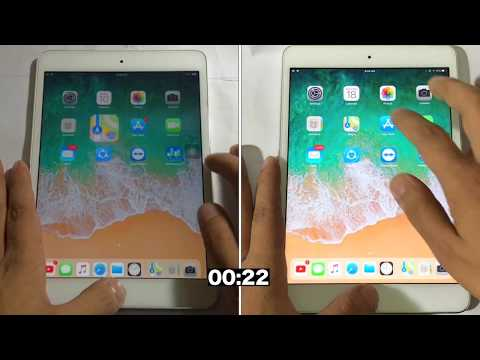 iOS 11.2 bata 4 vs iOS 11.1.1 speed test on iPad mini 2 | Geekbench test