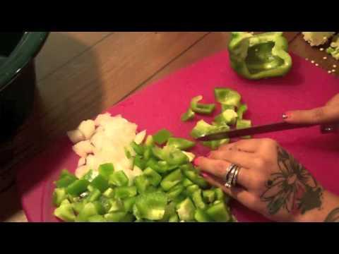 stuffed pepper soup in crock pot super easy
