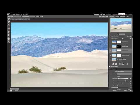 Removing Footprints with the Retouch Brush