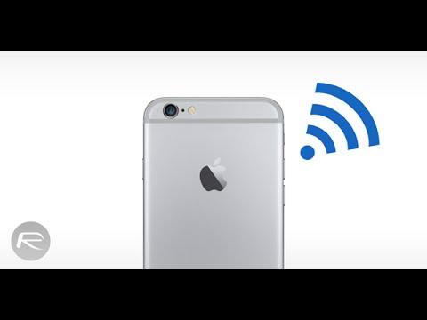fix slow and weak wifi on ios