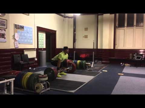Sonny Webster weightlifting Training video 08/10/14