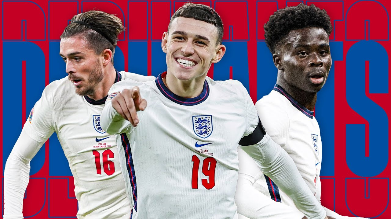 GREALISH, FODEN, SAKA   Best Highlights From England's Debutants in 2020   England