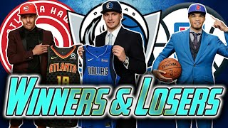 5 Biggest Winners And Losers In The 2018 Nba Draft | Luka Doncic To Dallas