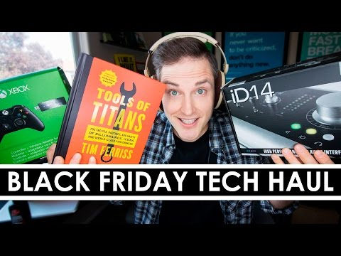 Black Friday and Cyber Monday Tech Haul — 12 Deals