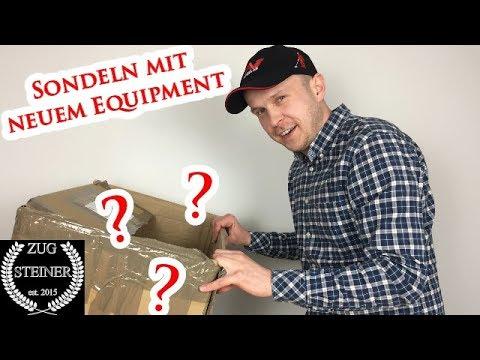 SONDELN mit neuem Equipment - METAL DETECTING AND THE NEW EQUIPMENT