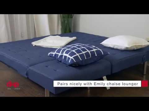 DHP Emily Convertible Linen Futon Review 2016