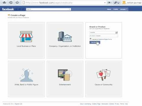 Create your first facebook page in five easy steps and get started in Facebook marketing