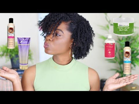 Favorite Natural Hair Products at the Moment