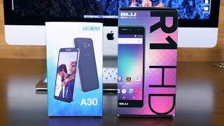 Alcatel A30 vs BLU R1 HD: Best Budget Smartphones Under $100