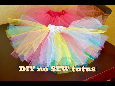 Super easy No sew DIY tutus | 24 August 2015 | Mommy and Baby Approved