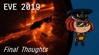 EVE Online 2019 Recap Final Thoughts