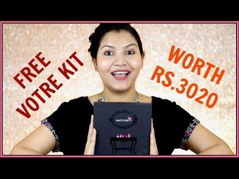 Vanity Cask May Edition with FREE  VOTRE KIT Rs. 3020 /INDIANGIRLCHANNEL TRISHA