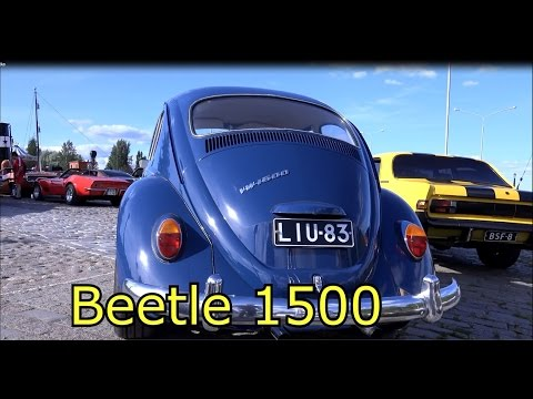 Volkswagen Beetle 1500 VW- Old classic car