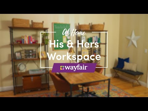His and Hers Workspace with Traci Hutcherson