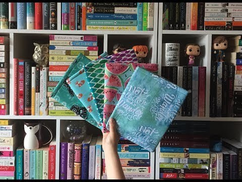 How to Make a Book Sleeve | Tutorial