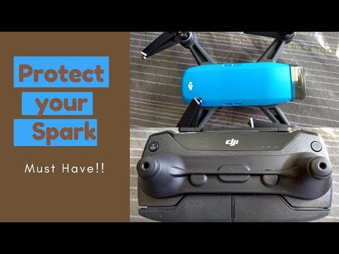 DJI SPARK ACCESSORIES: Protect Your Drone with these Covers