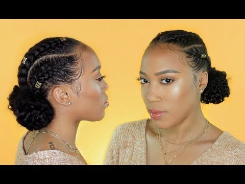 Natural Hair   Protective Style: Cornrows   ANNABELLE HAIR