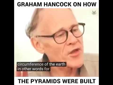 Archeologist Hancock:Jewish\Hebrew Slaves DID NOT build Egyptian Pyramids!