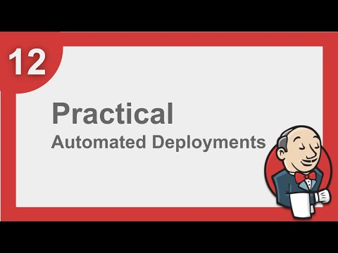 Jenkins Beginner Tutorial 11 - How to do Automated Deployment (Step by Step)