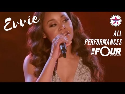 EVVIE McKINNEY: All Performances On 'The Four' | The Four Season 1