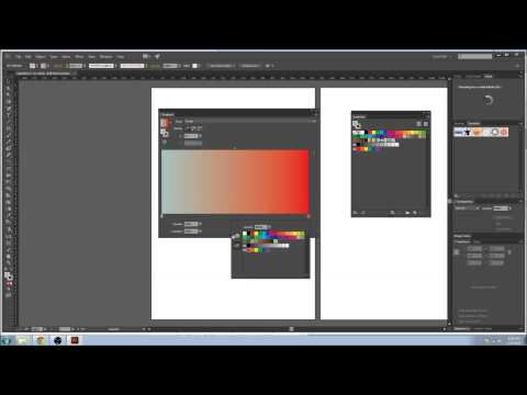 EP5 - Colour (Swatches, Pantone, CMYK, RGB) and Gradients [Adobe Illustrator Tutorial]
