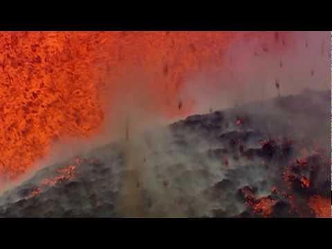 Europe's Biggest Volcano Erupts