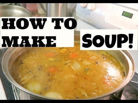 HOW TO MAKE JAMAICAN CHICKEN SOUP | ROCHELLE'S HOME COOKING