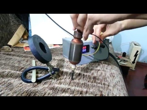 How DC motor works / Rotation inside a magnetic field / how to check rotor