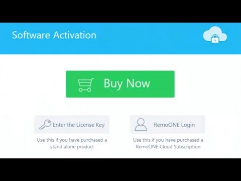 How to activate the latest version of Remo Software products?
