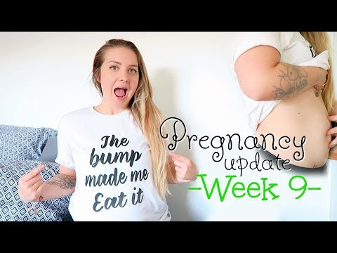 PREGNANCY UPDATE || WEEK 9 || SECOND BABY