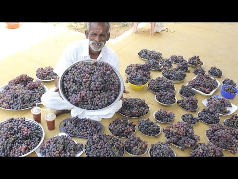 GRAPE JUICE Prepared by my Daddy ARUMUGAM / Village food factory