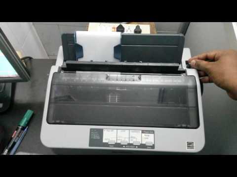 Epson Lx-310 tear off problem
