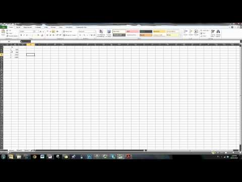 Power Function using Excel