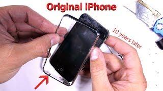 Download Original iPhone 2G Teardown - TEN YEARS LATER!! Video