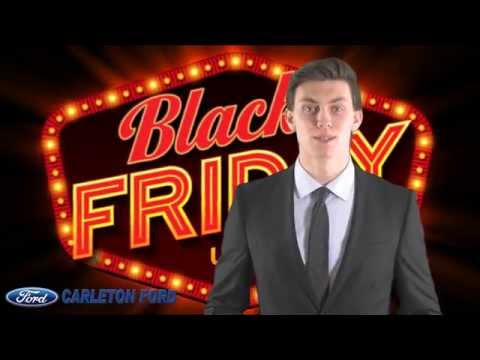 Carleton Ford Black Friday 2015 Event & Promotions
