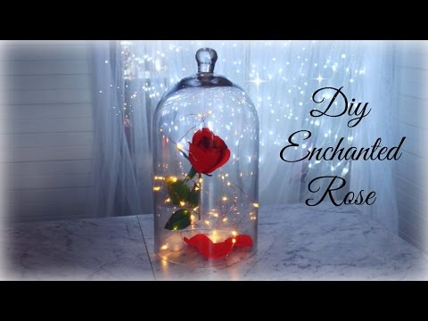 DIY Enchanted Rose | Beauty And The Beast