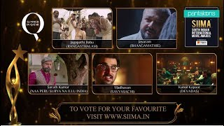 Pantaloons SIIMA 2019   BEST Actor in a Negative Role   Telugu