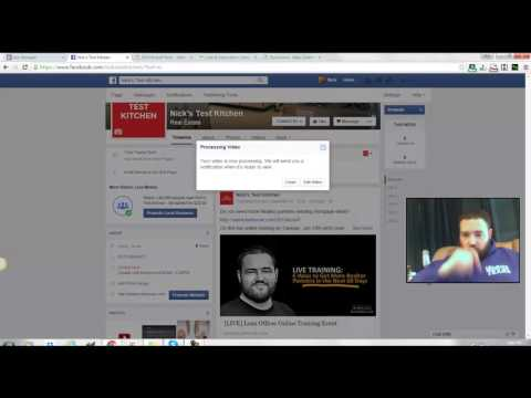 Facebook Photo Slideshow Post (New Facebook Post)