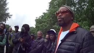 Hebrew Israelite Truth Brother TY | Gets Angrily Confronted by Muslim & Kemet - Speakers Corner